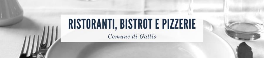 ristoranti pizzerie gallio - asiago online